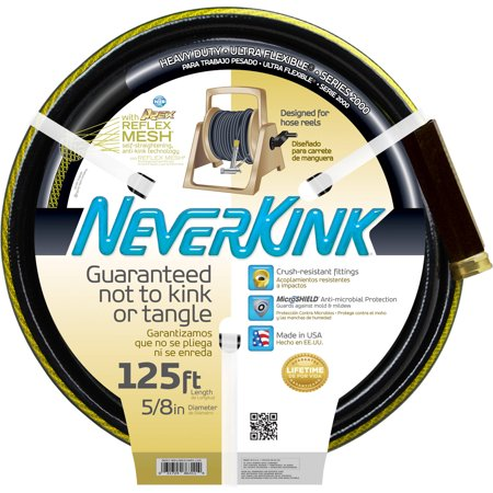 Neverkink 125 39 Garden Hose Black