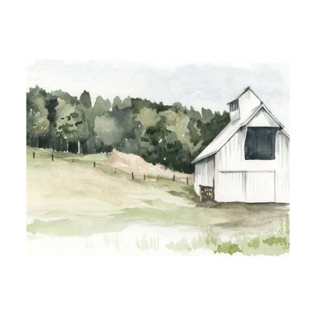 Watercolor Barn III Farmhouse Style Farm Artwork Print Wall Art By Jennifer Paxton Parker