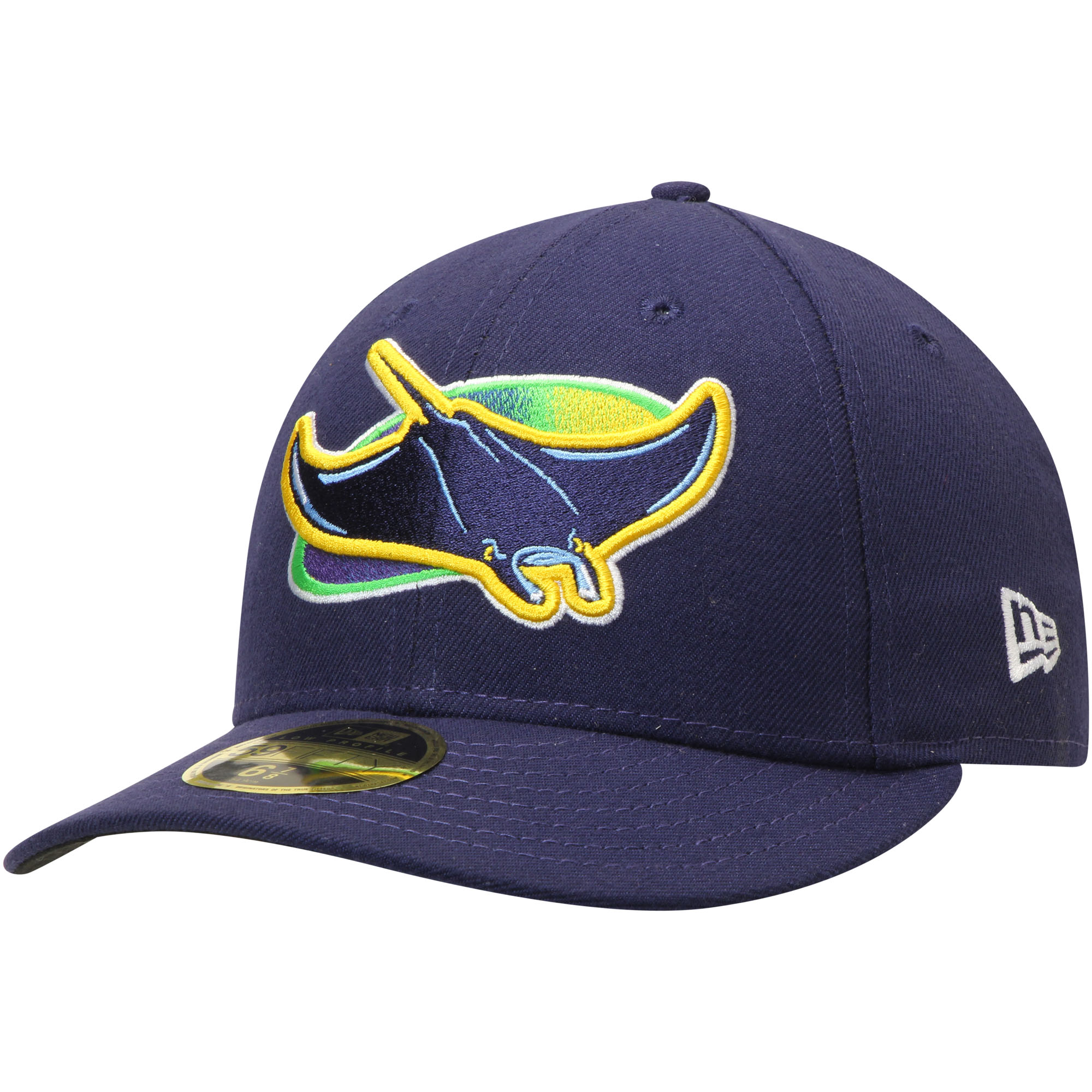 Tampa Bay Rays New Era Alternate Authentic Collection On-Field Low Profile 59FIFTY Fitted Hat - Navy