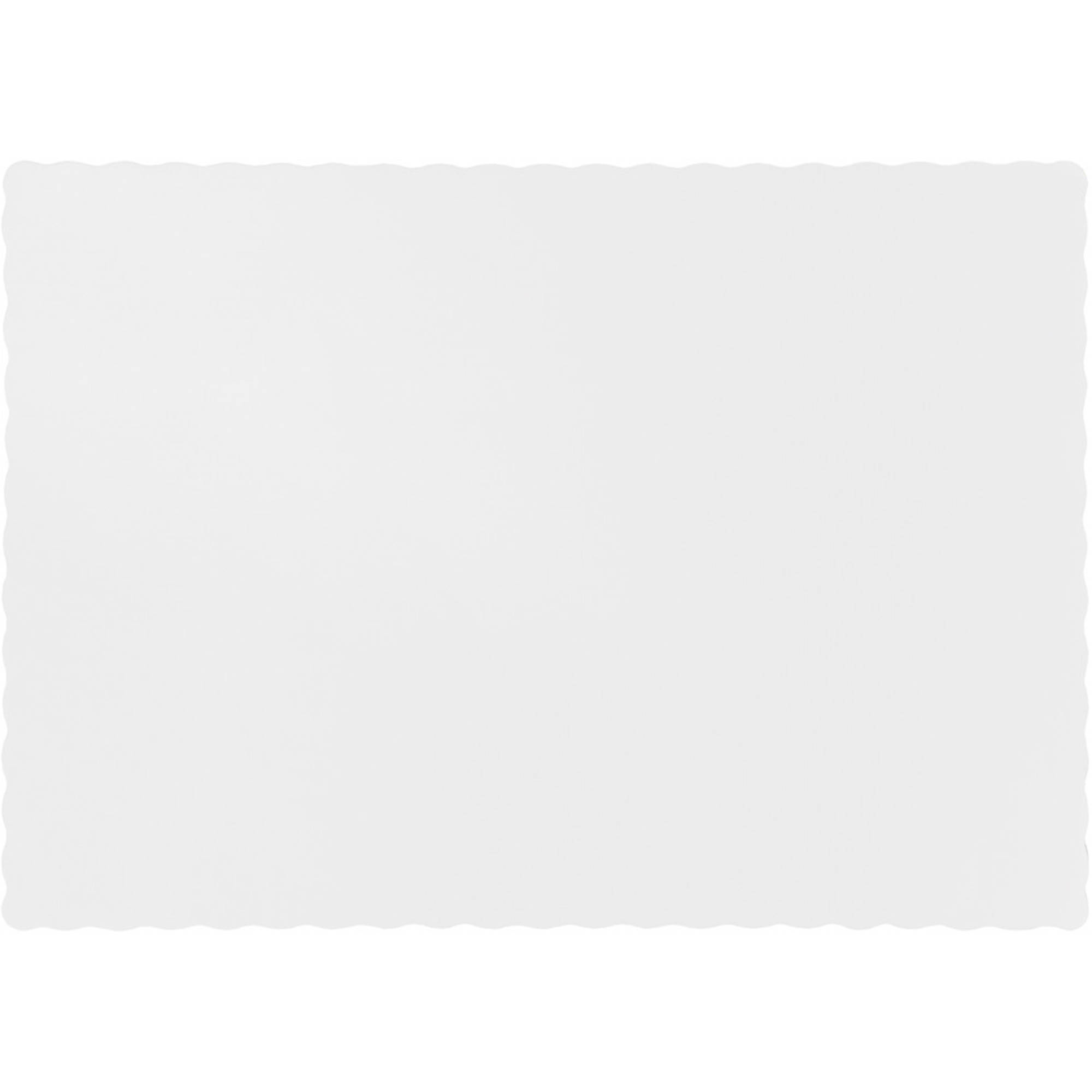 White Placemats, 50-Pack by CREATIVE CONVERTING
