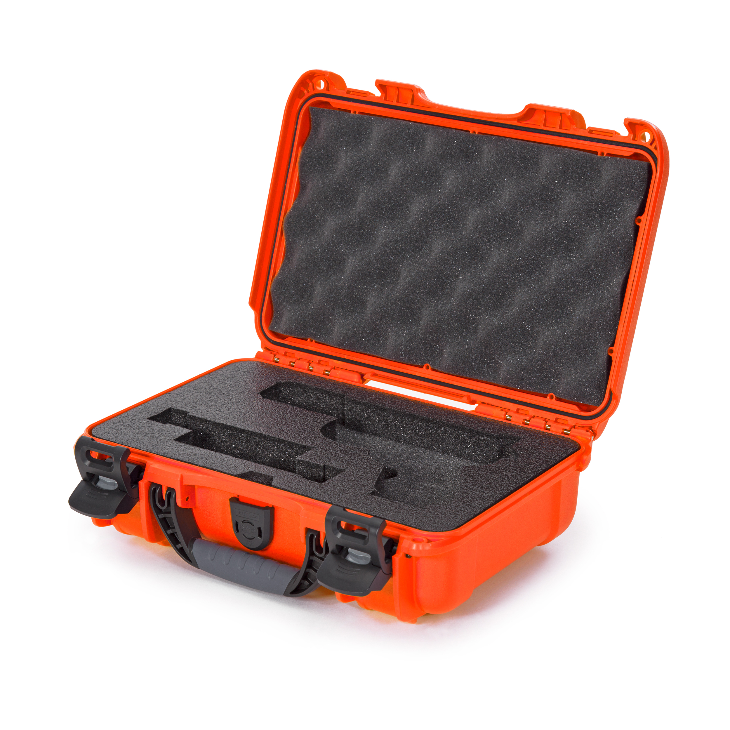 Nanuk 909 Waterproof Professional Glock/Gun Case, Military Approved with Foam Insert - Black