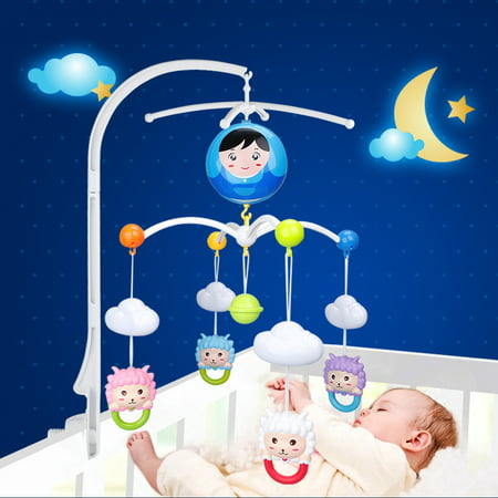Baby Crib Mobile Bed Bell Holder Toy Decoration Hanging Arm Bracket, Crib Bell Holder, Crib Arm Bracket ()