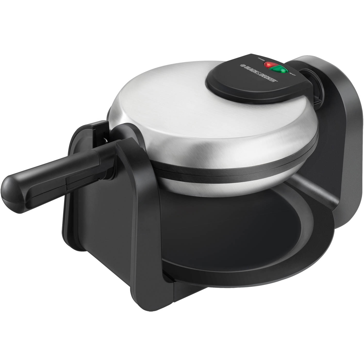 BLACK+DECKER Rotary Flip Waffle Maker, Non-Stick, WM1404S