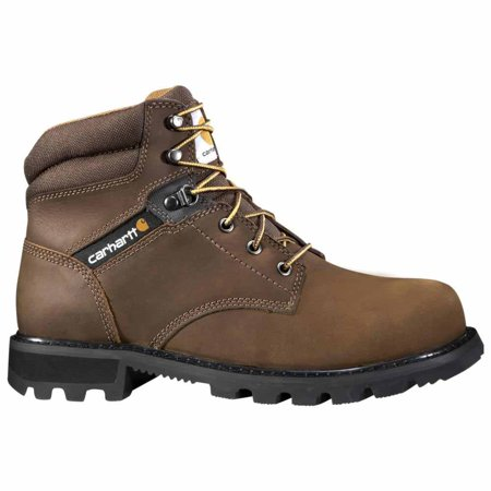 Carhartt 6 in. Brown Work Boot Safety Toe 11 W (Carhartt Work Shoes)