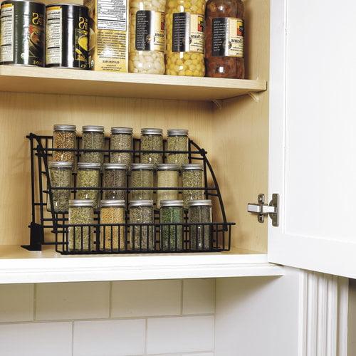 Kitchen Shelves Walmart: Rubbermaid Pull Down Spice Rack, FG802009