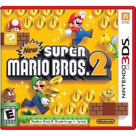 New Super Mario Bros. 2, 3DS NEW SUPER MARIO BROTHERS 2 By by Nintendo