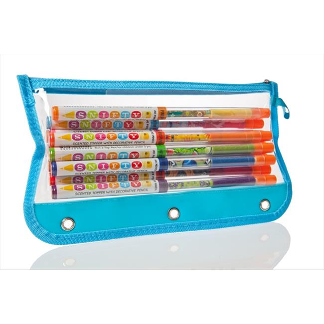 Snifty SPTP001 Pencil - 10 Pack Notebook Pouch - Set of 6