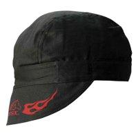 b84a937df98 Product Image Black Stallion BSX BC5W-BK Double Layer Cotton Welding Cap