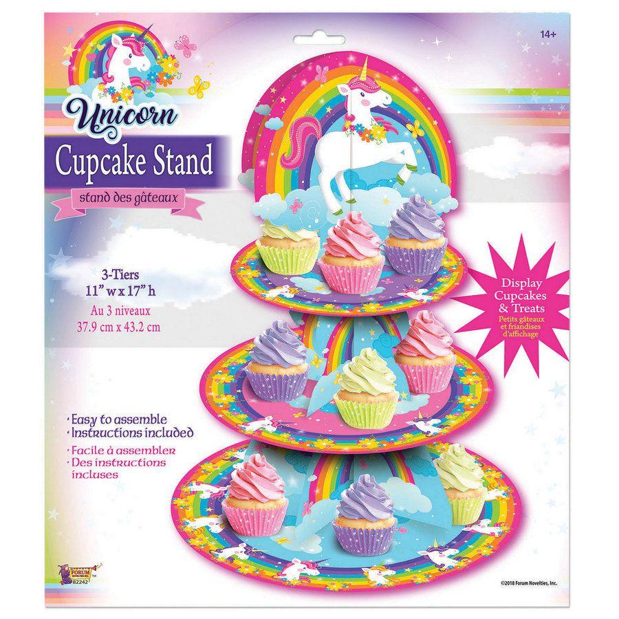Unicorn Cupcake Stand (1)