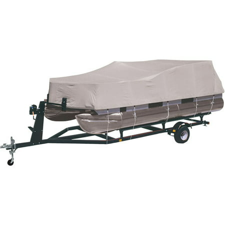 Harbor Master 300-Denier Polyester Pontoon Cover, Gray