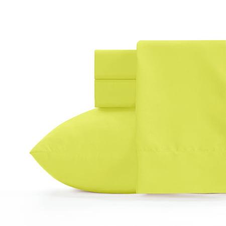 Crayola Granny Smith Apple Microfiber Sheet Set (Green Apple Sheets)