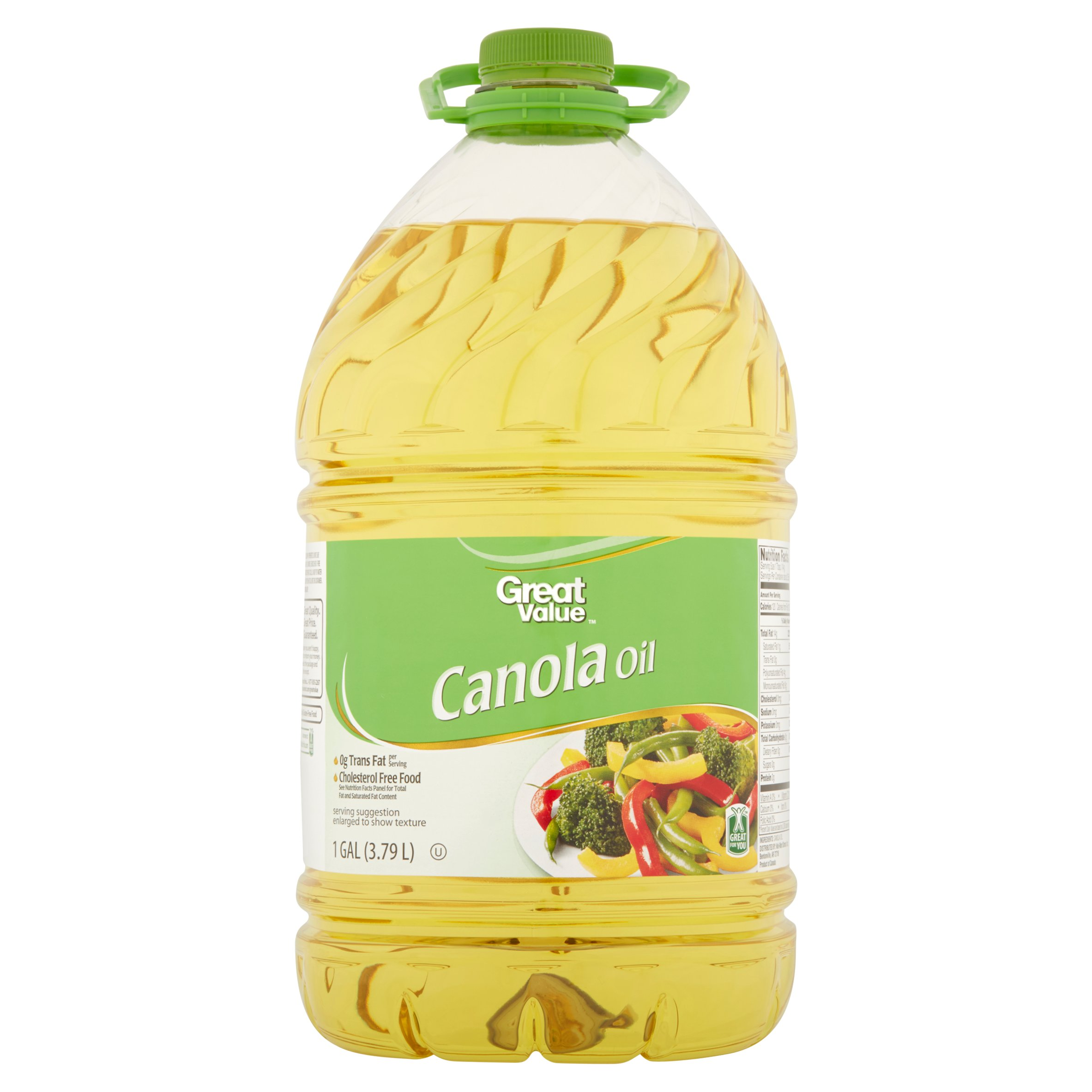 Great Value Canola Oil, 128 oz
