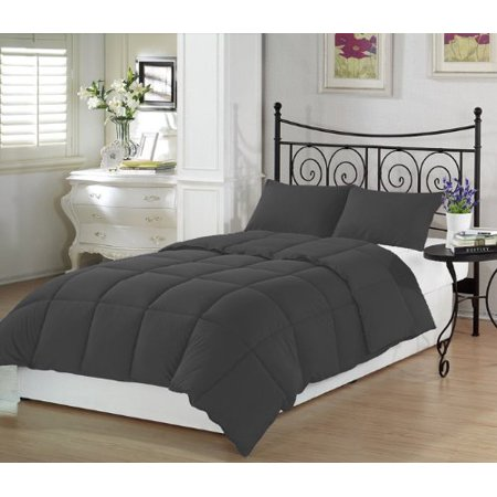 (Charcoal Twin Extra Long Comforter Set By Ivy Union)