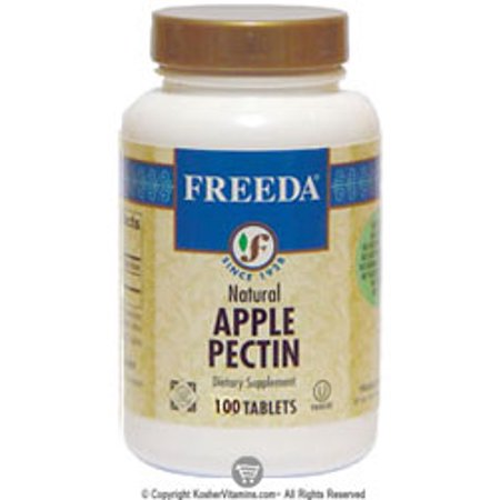 Freeda Kosher Natural Apple Pectin 300 Mg - 100 Tablets