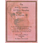 The Acts & Epistles of Bible Apostles, in Rhyme © - eBook