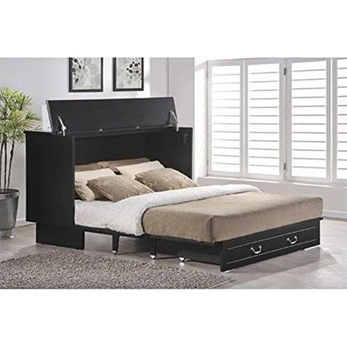 Pyper Marketing LLC Essie Queen Murphy Bed with Mattress