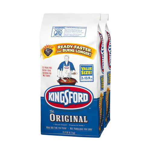 Kingsford Charcoal Briquets, 2 Pack of 13.90 lb Bags