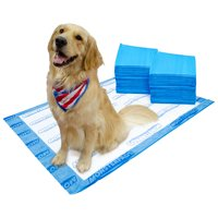 OUT! MonsterPads 7-Layer Dog Training Pads, 36x48 Inch,  40 Count, 2 Pack