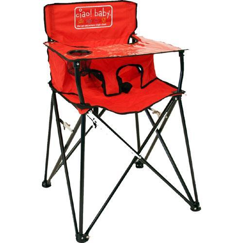 ciao  baby HB2005 - Portable High Chair - Red
