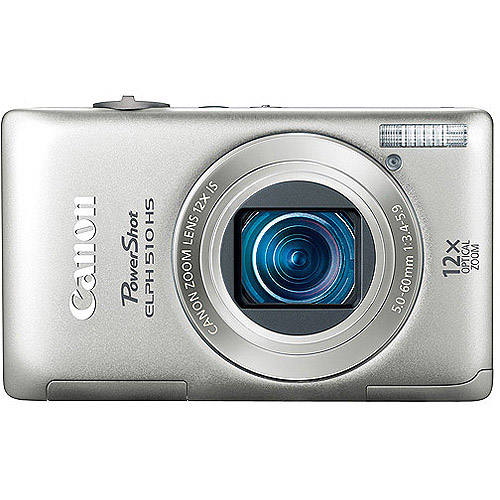 Canon fast Track Powershot Elph 510 Hs S