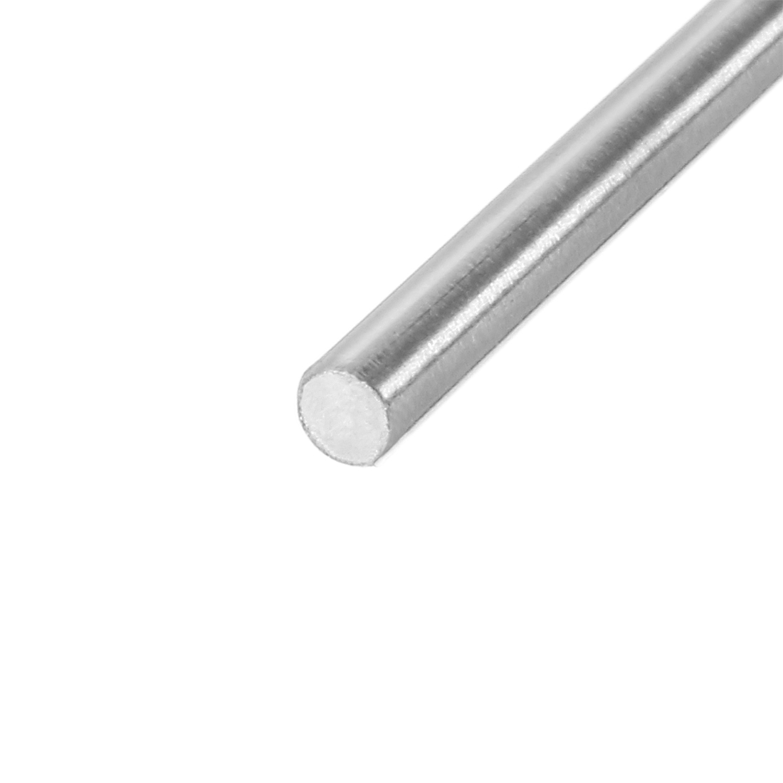 2mm Dia 100mm Length Stainless Steel Solid Round Shaft Rod for RC Model Toy - image 1 of 3