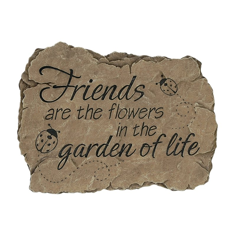 Carson Home Accents Garden of Life Garden Stone by Carson Industries Inc