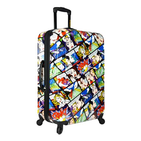 Loudmouth Crak  29  Expandable Checked Spinner Luggage