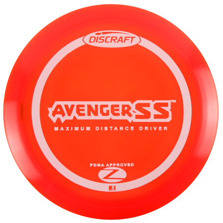 Discraft Elite Z Avenger SS 167-169g Distance Driver Golf Disc [Colors may vary] - 167-169g