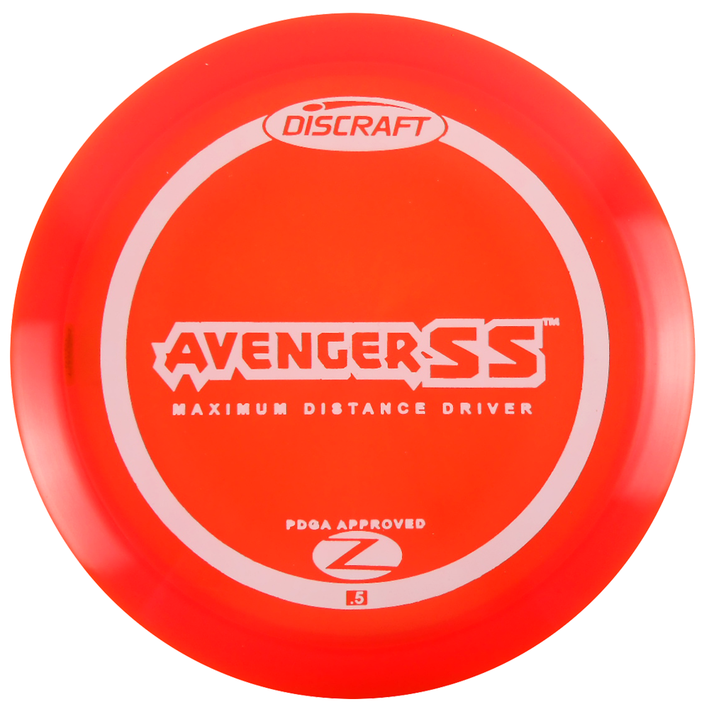 Discraft Elite Z Avenger SS 160-166g Distance Driver Golf Disc [Colors may vary] - 160-166g