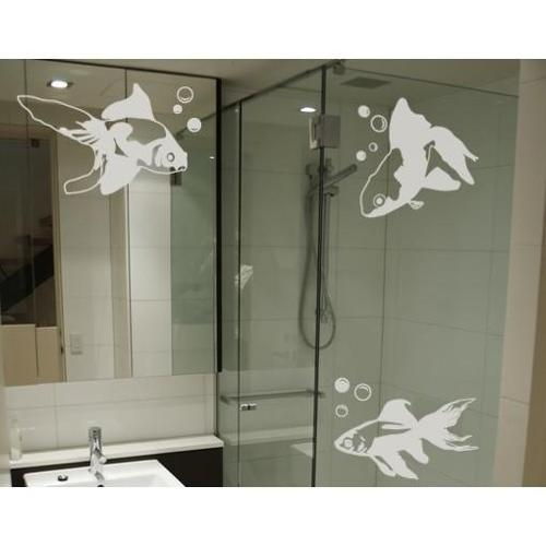 Style and Apply Goldfish Window Glass Decal Vinyl Wall Art Home Decor
