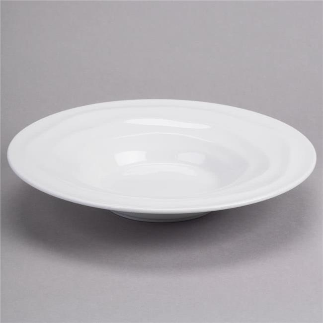 Tuxton GDP-063 15 oz. Pasta Bowl-Porcelain White by Tuxton China