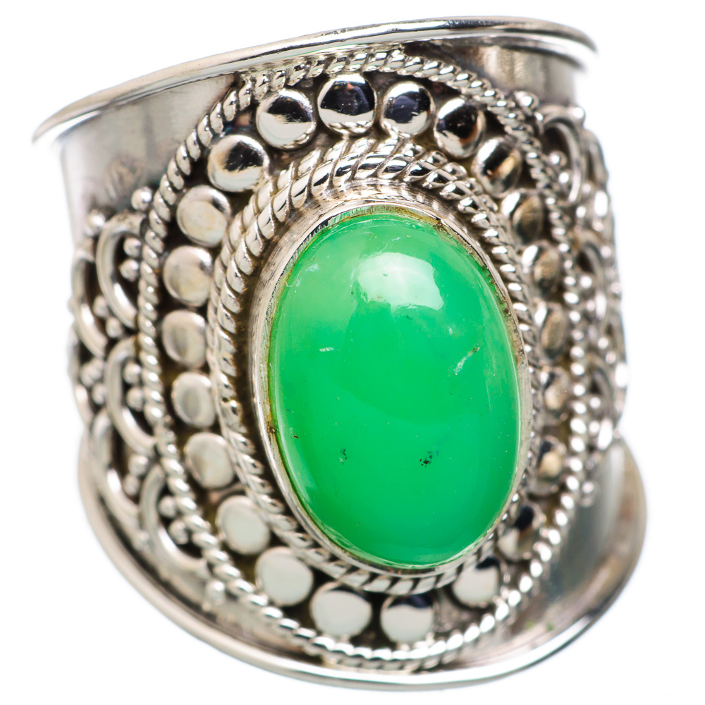 Ana Silver Co Chrysoprase 925 Sterling Silver Ring Size 6 RING822468 by Ana Silver Co.