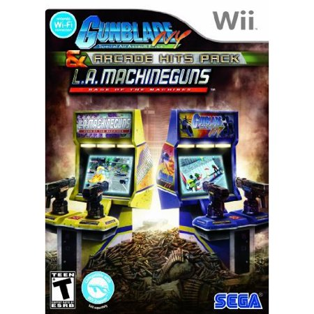 Gunblade NY and LA Machine Guns: Arcade Hits Pack (Wii)