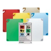 SAN JAMAR CBG1520KCGR Cutting Board Set,15x20,6 Boards