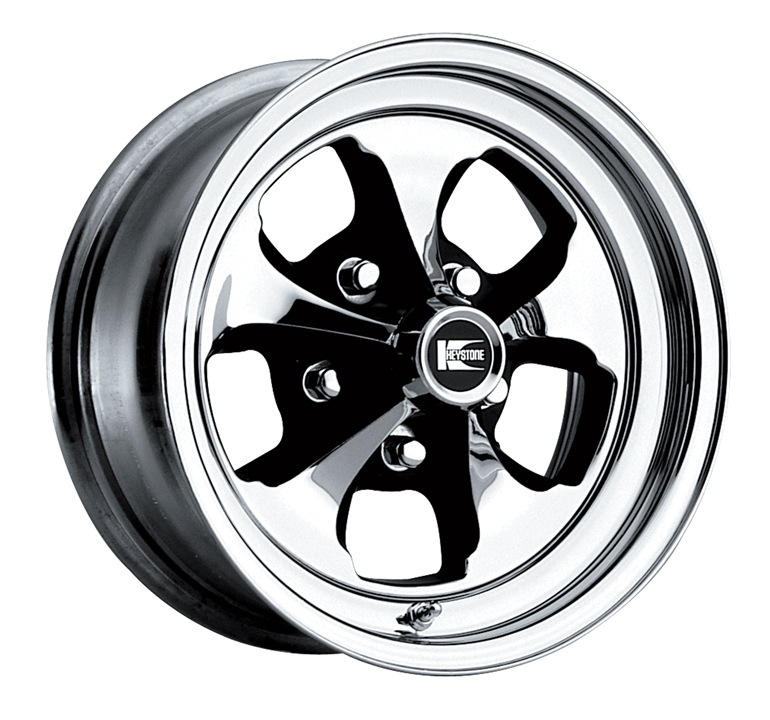 CRAGAR RIM WHEEL 325899 C29 KLASSIC 5 SPOKE Chrome|15 X 8