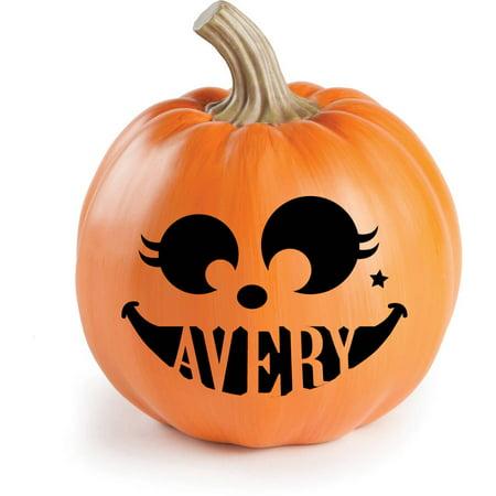 Personalized Halloween Pumpkin Decorations - Personalized Grave Decorations