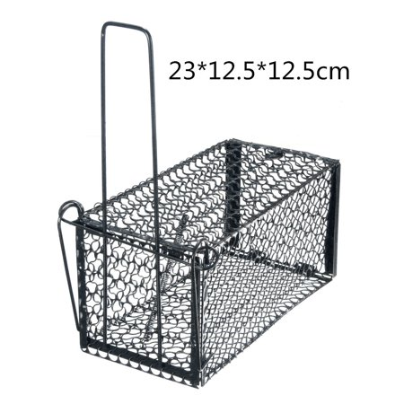 4 Size Mouse Live Trap Rodent Animal Humane Hamster Cage Household Mice Rat Control Catcher Bait - image 5 de 6