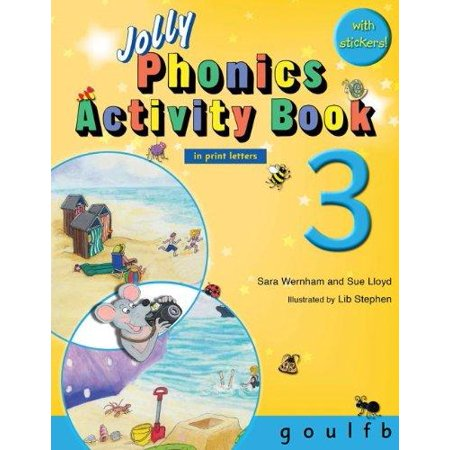 Jolly Phonics Activity Book 3  In Print Letters