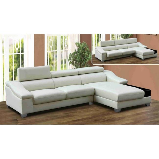 Lifestyle Furniture Lf049 Mantova Left Hand Facing Sectional Sofa