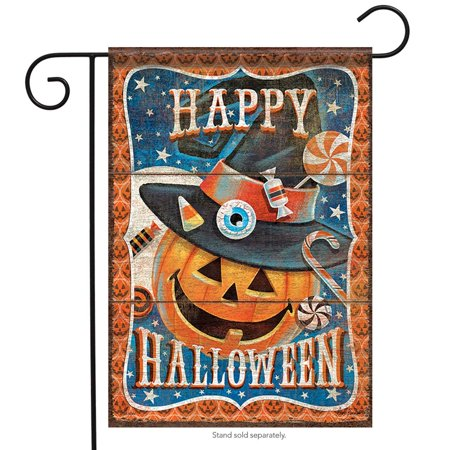 Image of Carson`s Halloween Treats Dura Soft Garden Flag