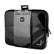 "Urban Factory 16"" Crazy Sleeve Vinyl, Black"