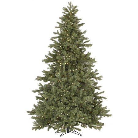 Vickerman 4.5 Frasier Fir Artificial Christmas Tree with 250 Warm White LED Lights