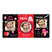 Personalized Valentines Day Kids Greeting Card - Sweet Valentine