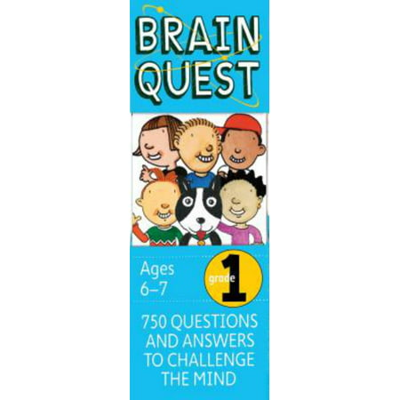 Brain Quest Grade 1, Revised 4th Edition: 750 Questions and Answers to Challenge the Mind (Hardcover) - Fourth Grade Halloween Crafts