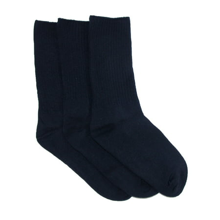 Kids' Cotton Seamless Toe Casual Crew Sock (Pack of (Best Seamless Socks For Kids)