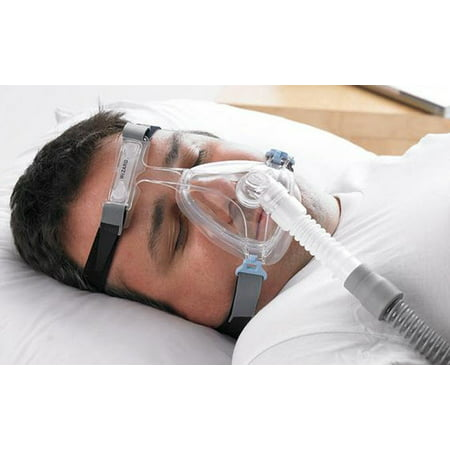 Wizard 220 Full Face (size L) CPAP Mask with Headgear (Model SM02010) by Apex (Best Cpap Full Face Mask For Beards)