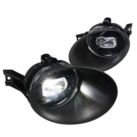 Spec-D Tuning For 2002-2008 Dodge Ram 1500 2500 3500 Clear LED Projector Fog Bumper Lights (Left+Right)  2003 2004 2005 2006