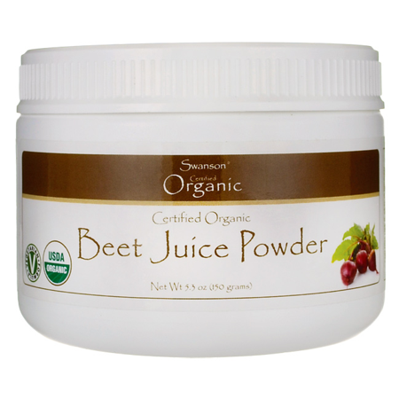 Swanson Certified Organic Beet Juice Powder 5.3 oz