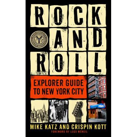 Rock and roll explorer guide to new york city - paperback: