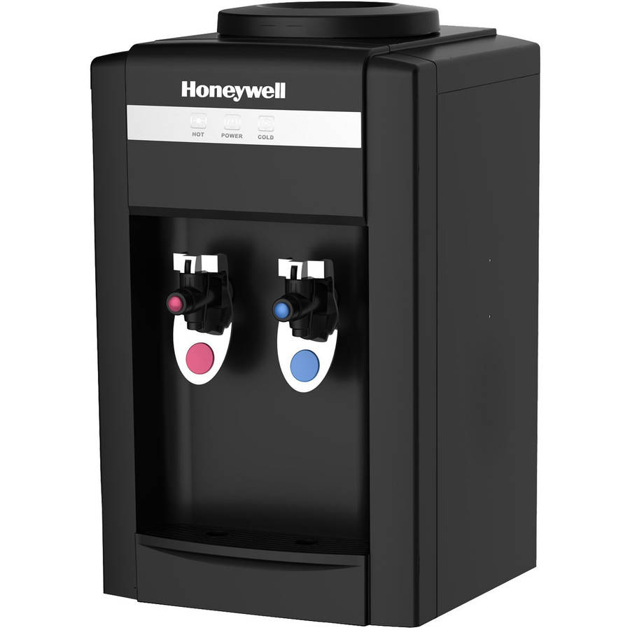 """Honeywell 21"""" Tabletop Water Cooler Dispenser, Hot and Cold Temperatures"""
